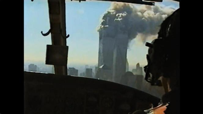La série monument «11-Septembre, un jour dans l'histoire» a été bâtie à partir de 951heures d'images d'archives et 235heures d'entretiens, réalisés auprès de 54personnes.