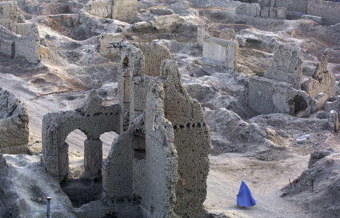 Kaboul, en octobre 2001.