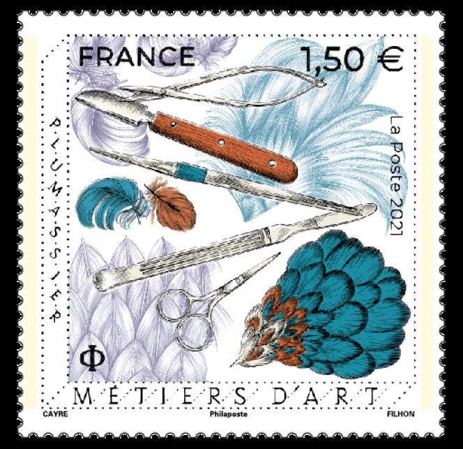 Prochain timbre gravé par Line Filhon, dessiné par Hélène Cayre. En vente anticipée en avant-première dès le 24 septembre, en vente générale le 27.