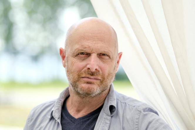 Le réalisateur et producteur israélien Hagai Levi, lors de la semaine Bergman organisée sur l'île de Faro, en Suède, le 2 juillet 2021.