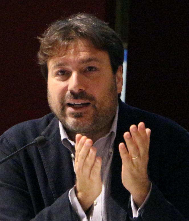 Tomaso Montanari, à Florence (Italie), en 2016.