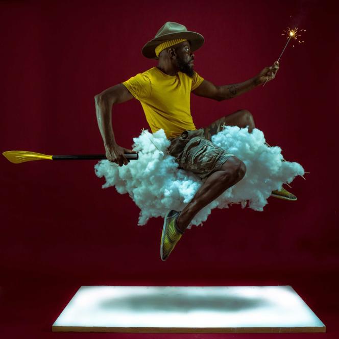 «Going Home»,de Benji Reid, exposé par l'October Gallery à la foire Photo London.