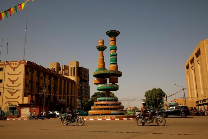La place des cinéastes à Ouagadougou, en mars 2017.