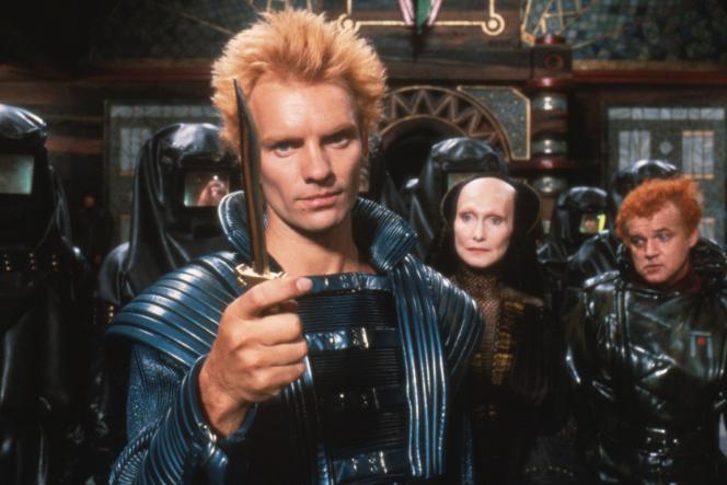 Sting dans « Dune» (1984), de David Lynch.