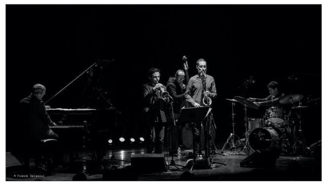 Florian Pellissier Quintet, par Franck Delasoul