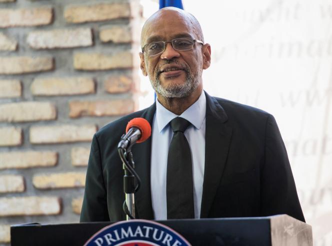 Le premier ministre haïtien Ariel Henry, à Port-au-Prince, le 11 septembre 2021.