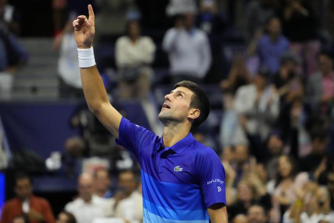 Novak Djokovic s'est qualifié pour la finale de l'US Open, en battant l'Allemand Alexander Zverev, vendredi 10 septembre 2021, à New York.