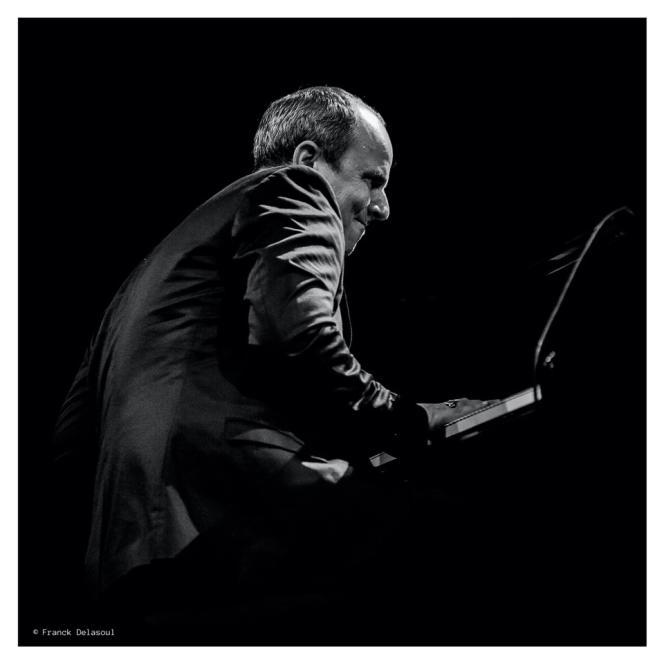 Le pianiste Florian Pellissier, par Franck Delasoul