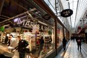 Le magasin Marks & Spencer du passage Jouffroy, à Paris, en décembre 2018.