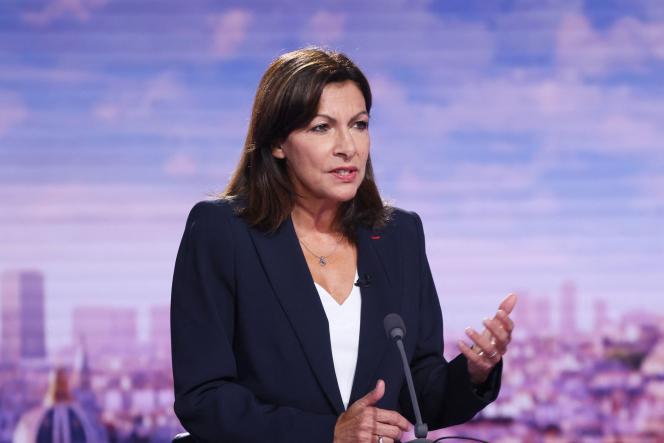 Anne Hidalgo sur France 2, le 12 septembre 2021.