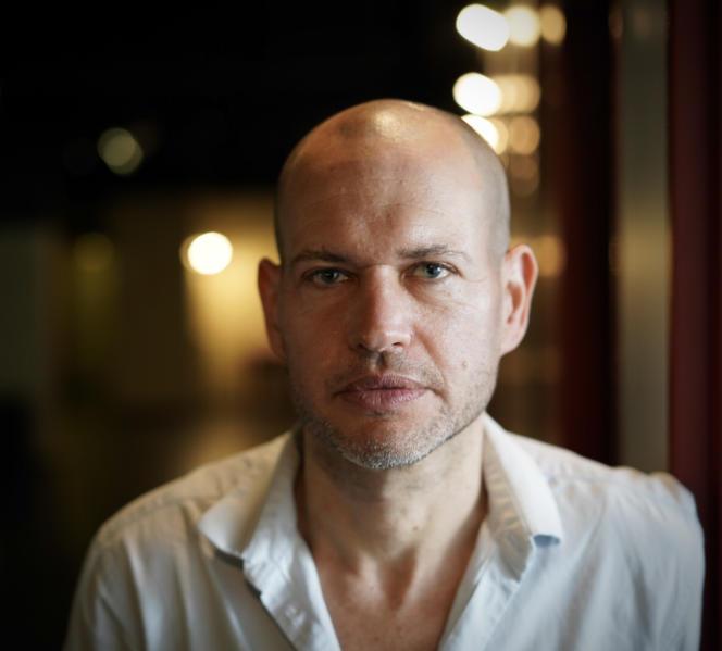 Le réalisateur israélien Nadav Lapid, à Paris, en juin 2021.