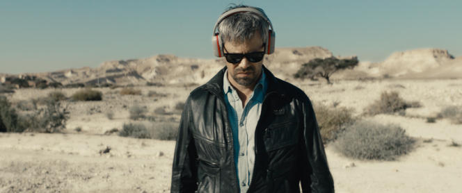 Le réalisateur Y (Avshalom Pollak) dans «Le Genou d'Ahed», de Nadav Lapid.