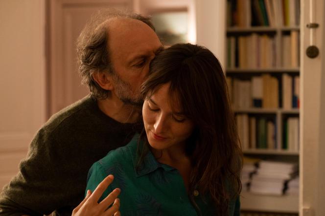 Daniel (Denis Podalydès) et Anaïs (Anaïs Demoustier) dans«Les Amours d'Anaïs», de Charline Bourgeois-Tacquet.