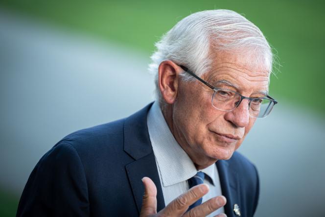 Le haut représentant de l'Union pour la politique étrangère et de sécurité, Josep Borrell, à Brdo pri Kranju, en Slovénie, le 2 septembre 2021.