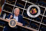Joe Biden à Boise (Idaho), le 13 septembre 2021.