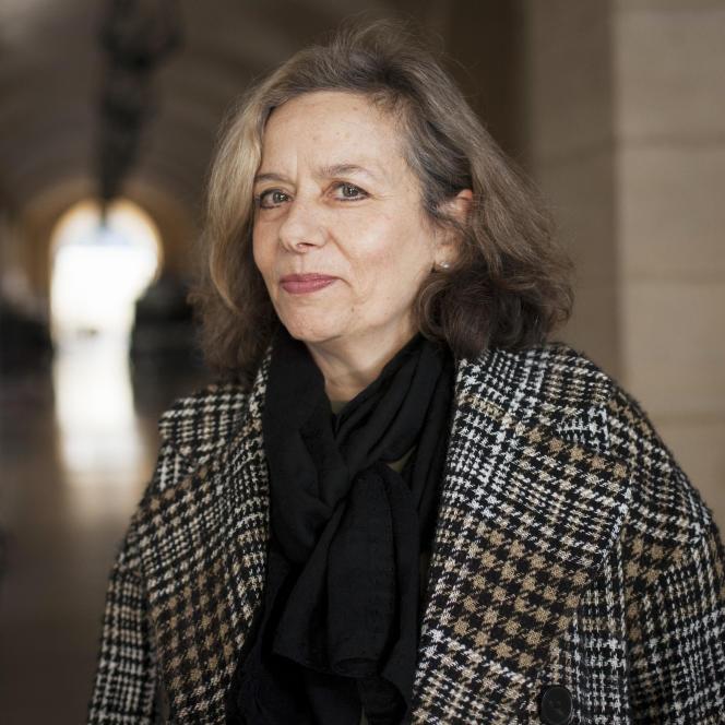 Françoise Benhamou, au Théâtre de L'Odéon (Paris), le 25 novembre 2020.