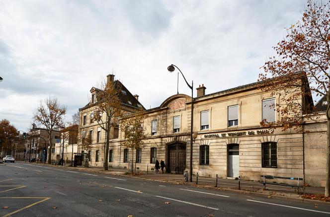 L'ancien hôpital Saint-Vincent-de-Paul, dans le 14e arrondissement deParis.