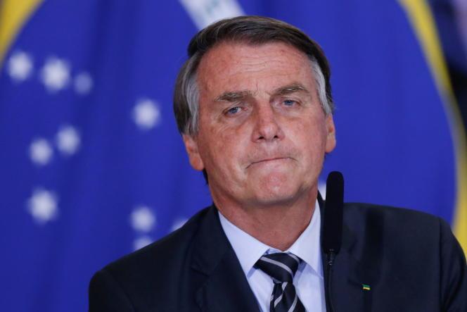Jair Bolsonaro, 14 września 2021 r. w Brasilii.