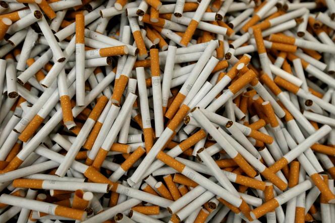 Dans une usine de British American Tobacco à Bayreuth, en Allemagne, en 2014.
