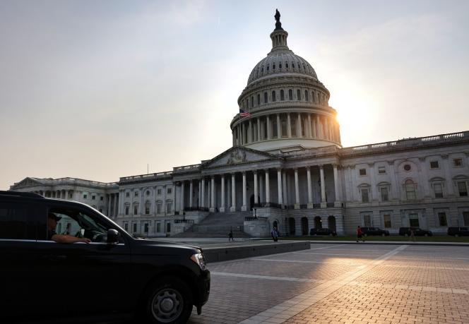 Le Capitole, siège du Congrès américain, à Washington, le 14 septembre 2021.