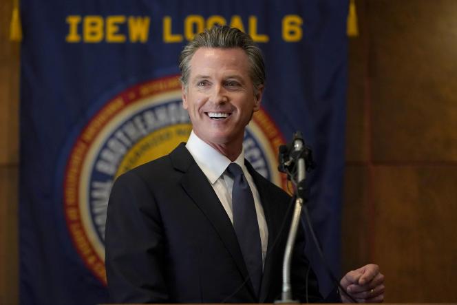 Governador da Califórnia Gavin Newsom em 14 de setembro de 2021 em San Francisco.