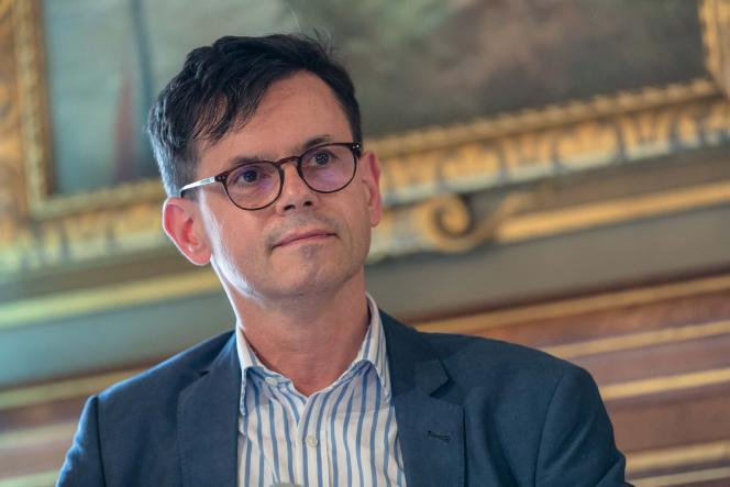 Christophe Leribault, à la Mairie de Paris, enseptembre 2020.