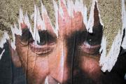Une affiche de soutien à la candidature présidentielle d'Eric Zemmour, dans une rue de Paris, en juillet.
