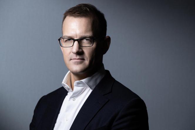 Le milliardaire tchèque Daniel Kretinsky, le 22 janvier 2020.