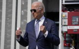 President Joe Biden speaks during a tour of the Flatirons campus of the National Renewable Energy Laboratory, Tuesday, Sept. 14, 2021, in Arvanda, Colo. (AP Photo/Evan Vucci)