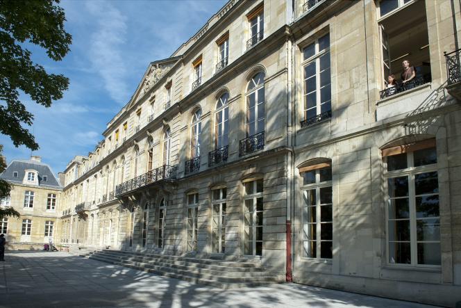 L'Ecole des Mines (ou Mines ParisTech), dans le 6e arrondissement de Paris, en 2012.