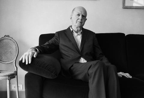 Jean-Marc Sauvé chez lui, à Sceaux, le 9 septembre 2021