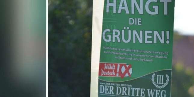 Elections allemandes, J–11: des affiches appelant à «pendre les Verts» sont autorisées