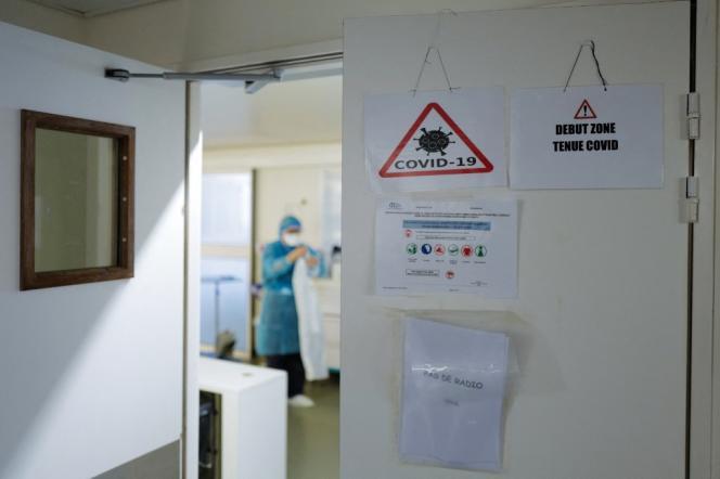 A l'hôpital Pasteur, le centre hospitalo-universitaire de Nice, le 25février2021.