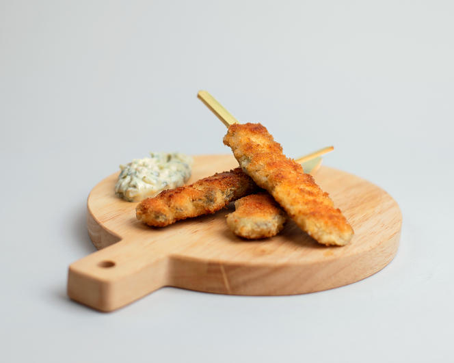 The mussel skewers offered by Caroline Rostang.