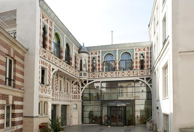 Le siège de l'ordre national des pharmaciens, à Paris.