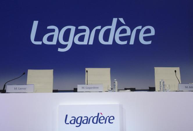 Une perquisition s'est déroulée au siège parisien de Lagardère mardi 14 septembre2021.