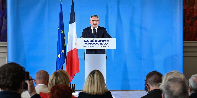 Présidentielle : comment Xavier Bertrand cherche à se démarquer d'Emmanuel Macron sur la sécurité