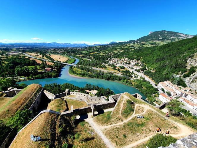La citadelle de Sisteron.