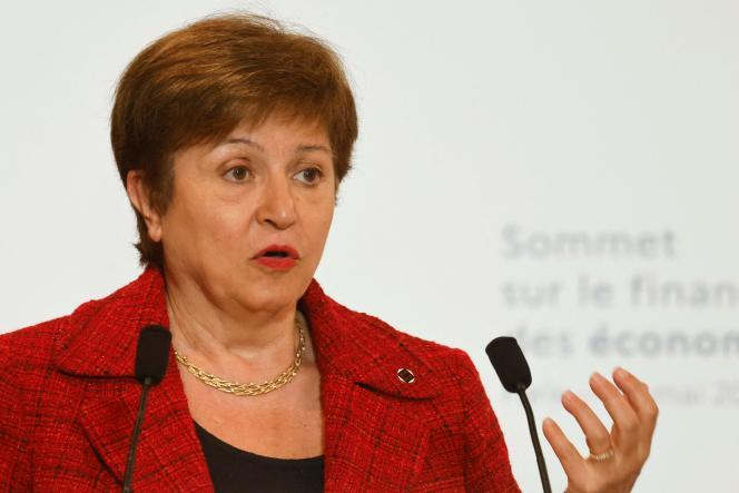 La directrice du FMI Kristalina Georgieva, à Paris, le 18 mai 2021.