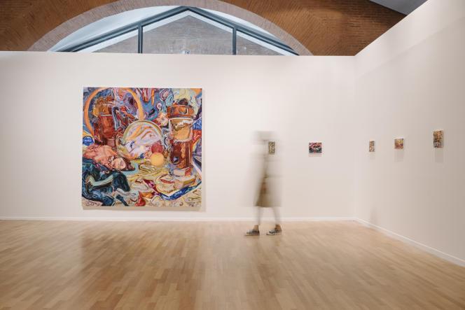 « La Proie du soleil» (2020), de Miryam Haddad, dans le cadre de l'exposition-phare du Printemps de septembre « La Folle du logis», au musée-FRAC des Abattoirs, à Toulouse, le 15 septembre.