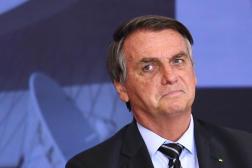 Jair Bolsonaro à Brasilia, le 14 septembre 2021.