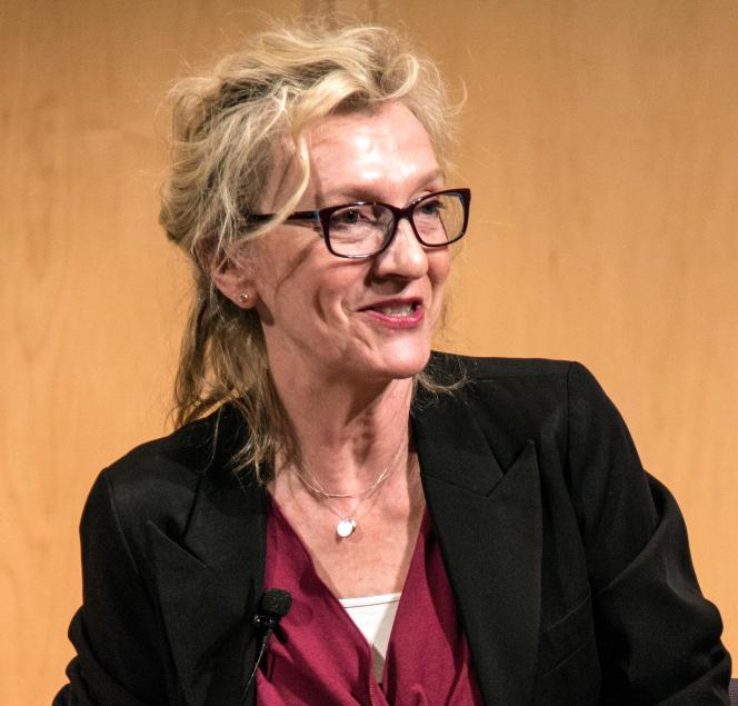 L'écrivaine américaine Elizabeth Strout, en 2014.