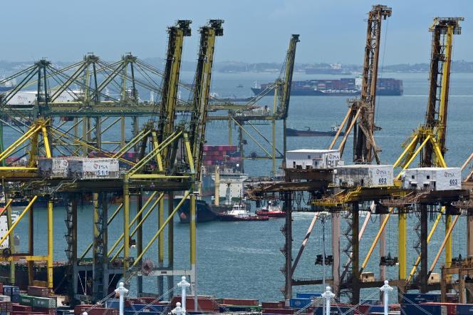 Un terminal à conteneurs dans le port de Singapour, le 17 septembre 2021.