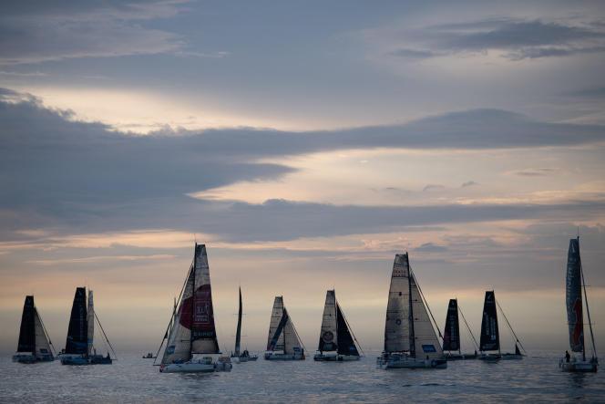 L'édition 2021 de la Solitaire a été survolée par deux navigateurs : Pierre Quiroga et Xavier Macaire.