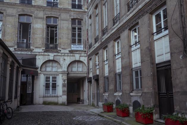 L'entrée du Planning Familial du 2e arrondissement à Paris, le 16 septembre.