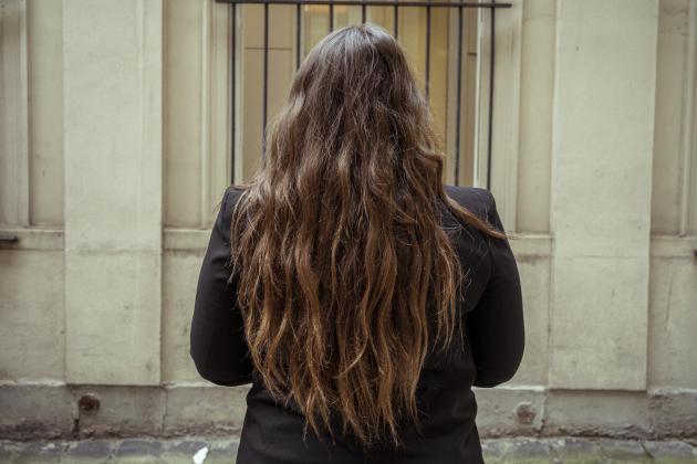 Eve, 22ans, vient pour la seconde fois au Planning familial. Elle prenait la pilule mais est enceinte. Le 16septembre 2021, à Paris.