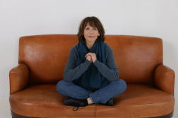 Sophie Marceau, en novembre 2020, à Paris, à la fin du tournage de «Tout s'est bien passé», de François Ozon.