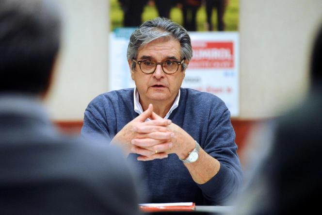 Le président socialiste du conseil départemental de Haute-Garonne, Georges Méric, à toulouse en mars 2015.