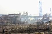 L'usine AZF située dans la banlieue sud de Toulouse, le 21 septembre 2001.