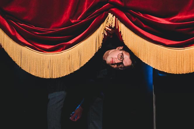 Haroun, au Théâtre Edouard-VII, à Paris, le 27 janvier 2020.
